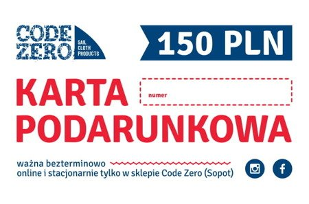 KARTA PODARUNKOWA - 150